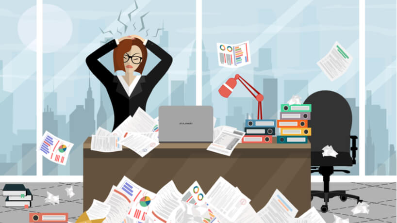 Are You a Workaholic? Do Not Return to Work With Payroll Disbursements in Hand