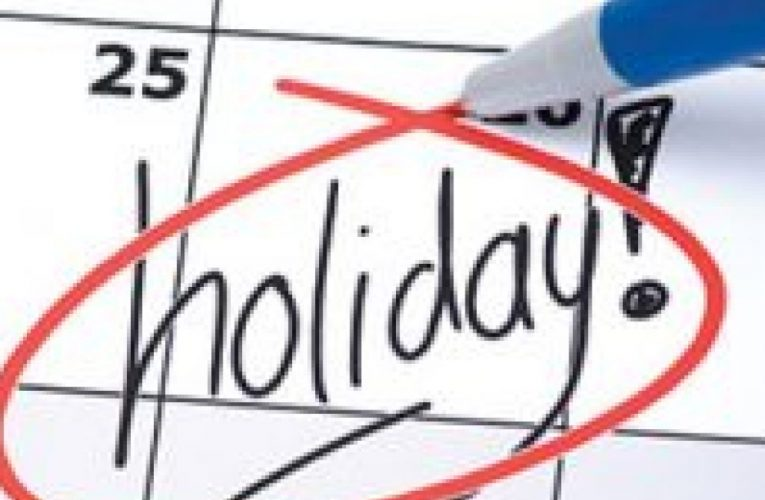 Holidays For Employees